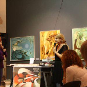 Rachel Blau DuPlessis e Rosetta Martellini (Presidente di TdC)